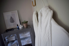 Our soft dressing gowns and towels