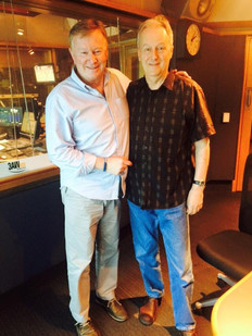 Mike Rudd chats to Denis Walter on 3AW