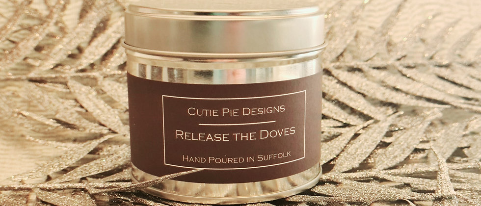 Release the Doves Candle Tin