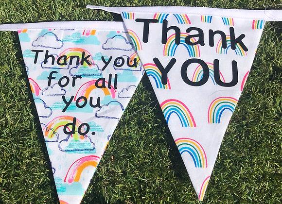 "Rainbow ""Thank you"" Banner"