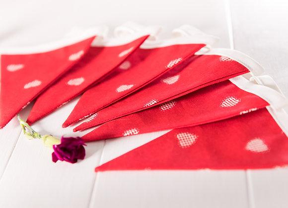 Mini Red Hearts