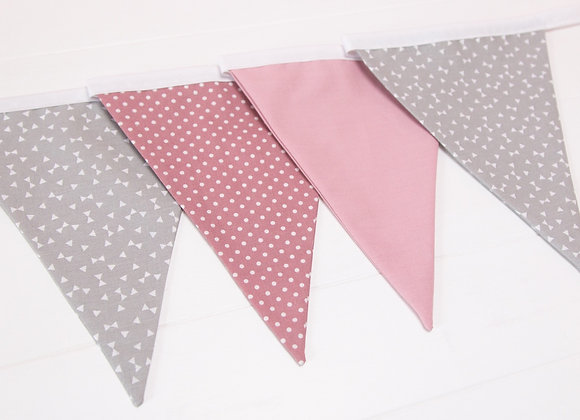 Pinks and Grey Bows