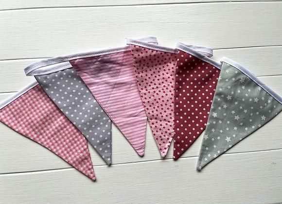 MINI Pink and grey mix - 1metre