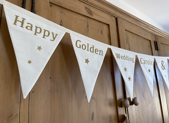 Happy Golden Wedding Banner