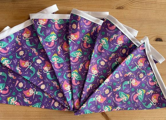 Mermaids and purples