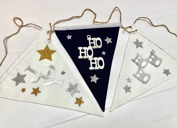Individual flags - JOY and HoHoHo
