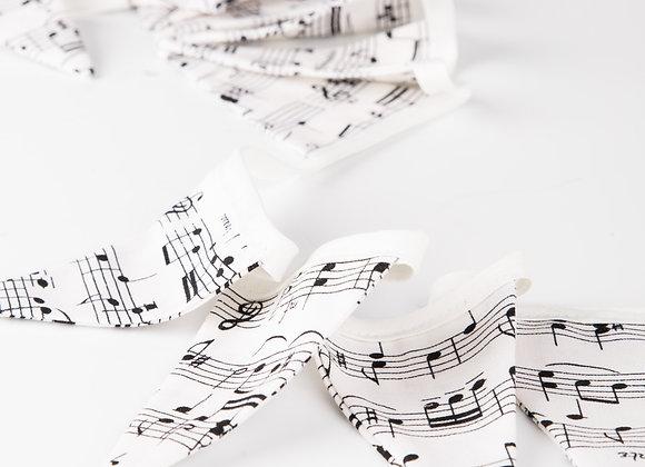 Micro Musical Script Bunting
