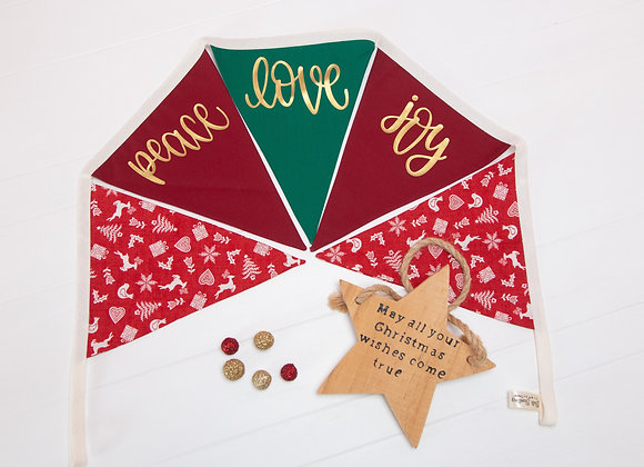 Peace, Love, Joy Banner