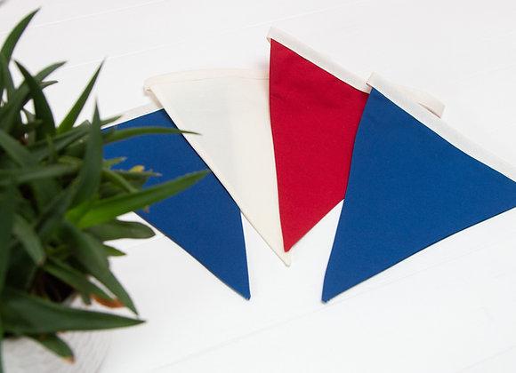 Classic British Red, White and Blue
