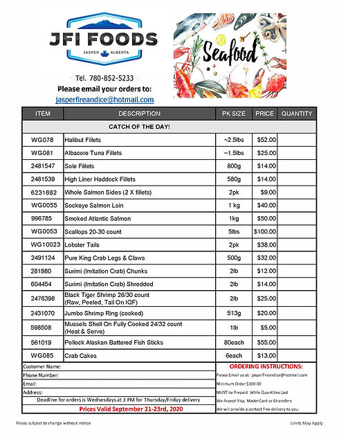 2020 Seafood Flyer JFI Sept 21-23rd jpeg