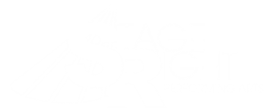 Stage Right Performing Arts logo musical theatre acting singing kansas city