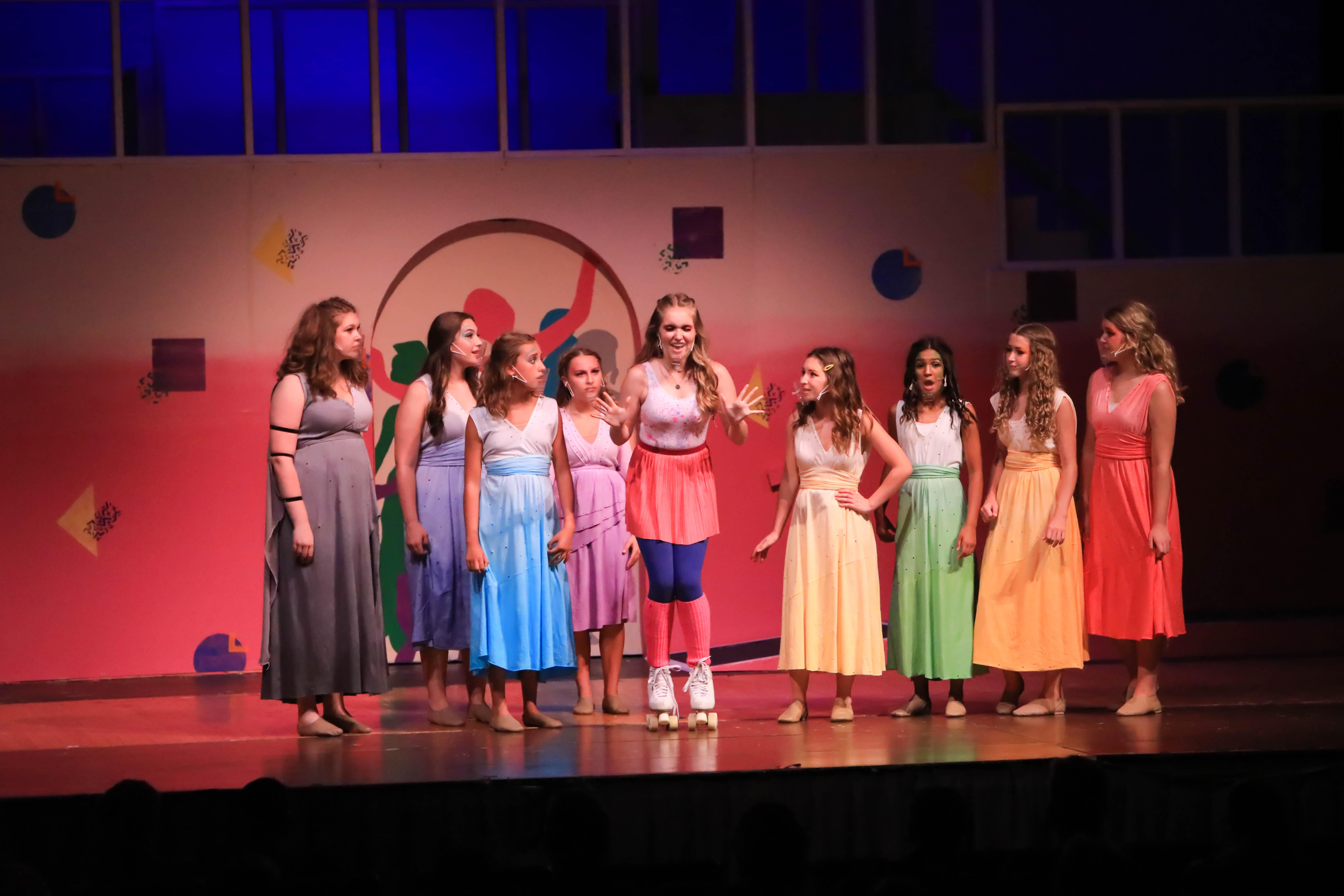 Xanadu musical theatre kansas city performing arts acting