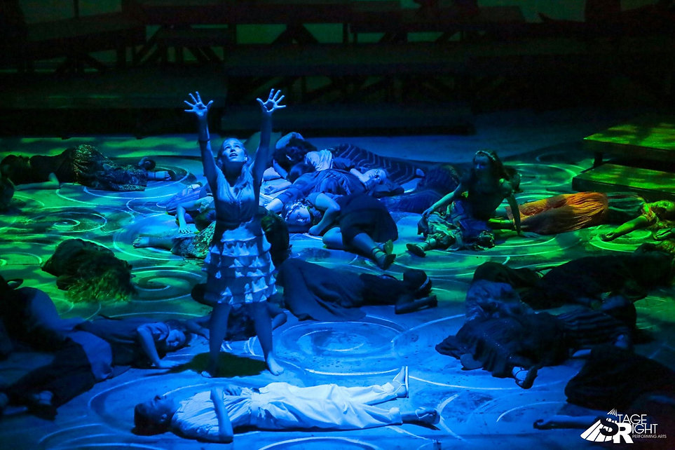 Once On This Island musical theatre kansas city performing arts acting