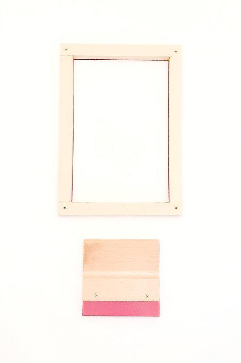 Mini Screen & Squeegee set