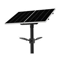 Solarstreet 2 X 50 Watt Lithium Solar St