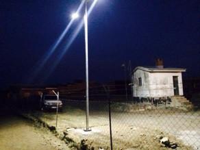 Solar street 2 x 20w – Lesotho