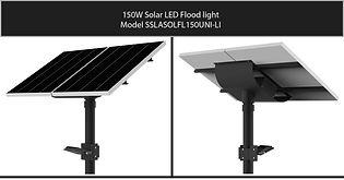 Solarstreet 150w Solar LED Flood - SSLAS