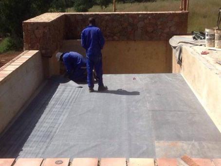 Rooftop Garden Terrace Project at Letamo Wildlife Estate