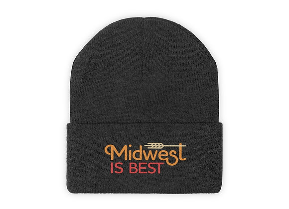 Midwest is Best Knit Beanie