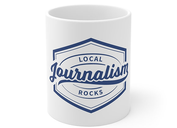Local Journalism Rocks Mug