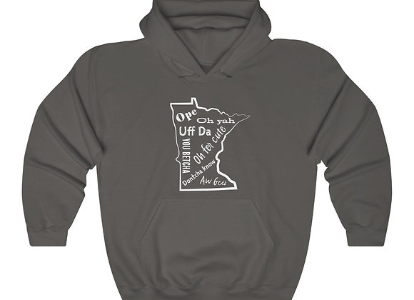 Minnesota Lingo Unisex Hooded Sweatshirt