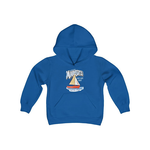 Detroit Lakes Destinations Youth Hoodie