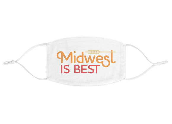 Midwest is Best Fabric Face Mask