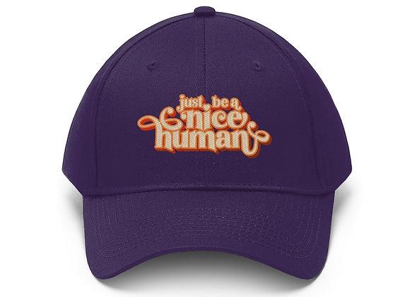 Be a Nice Human Baseball Cap