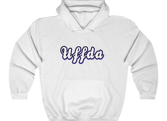 Uffda Unisex Hooded Sweatshirt