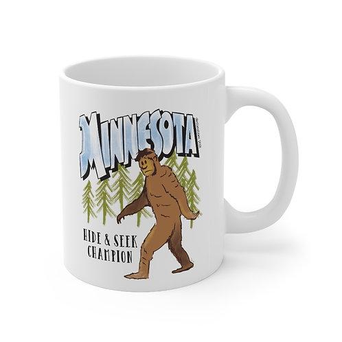 Bigfoot Destinations Mug