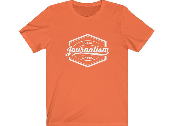Local Journalism Rocks Unisex Tee