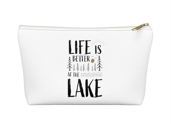 Life is Better at the Lake Accessory Pouch