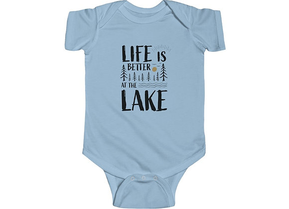 Life is Better at the Lake Baby Onesie