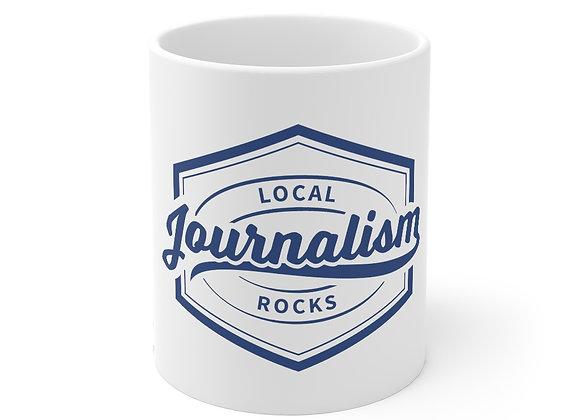 Local Journalism Rocks Mug