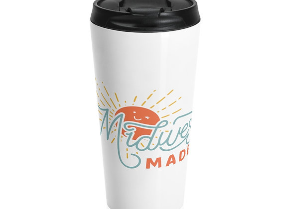 Midwest Made Stainless Steel Travel Mug