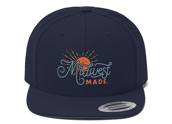 Midwest Made Flat Bill Baseball Cap