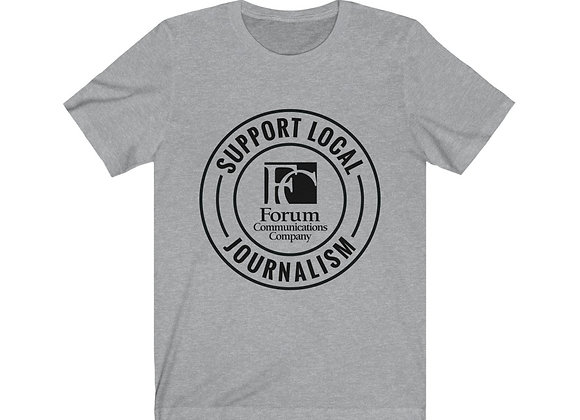 Support Local Journalism Unisex Tee
