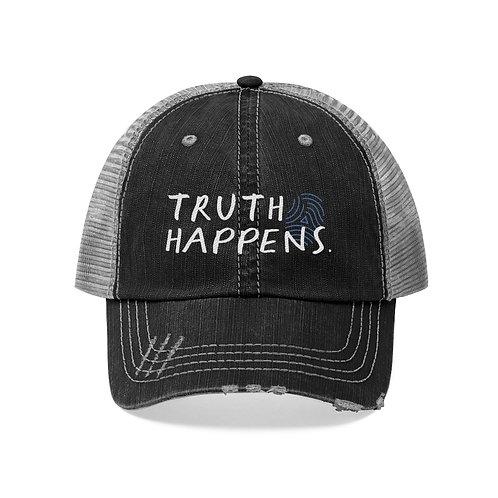 Truth Happens Trucker Hat