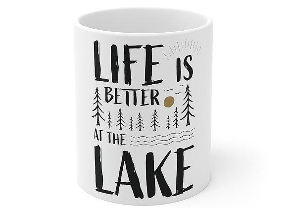 Life is Better at the Lake Mug