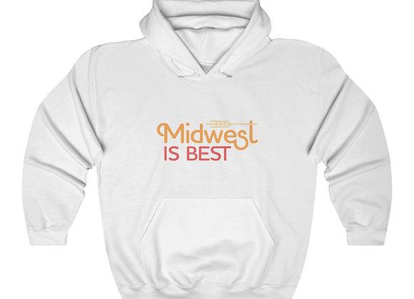 Midwest is Best Unisex Hooded Sweatshirt