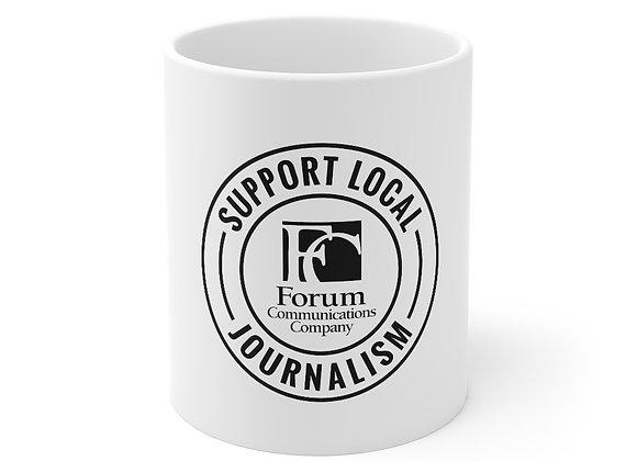Support Local Journalism Mug