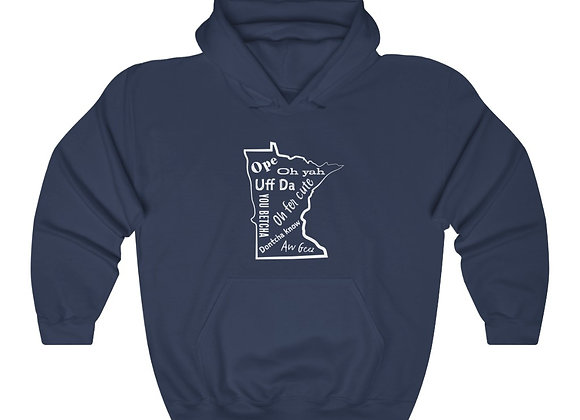 Minnesota Lingo Unisex Hooded Sweatshirt