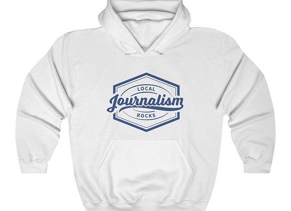Local Journalism Rocks Hoodie