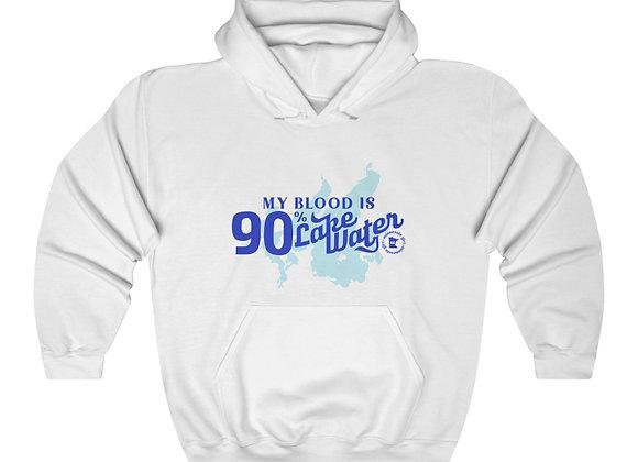 Lake Water Unisex Hooded Sweatshirt