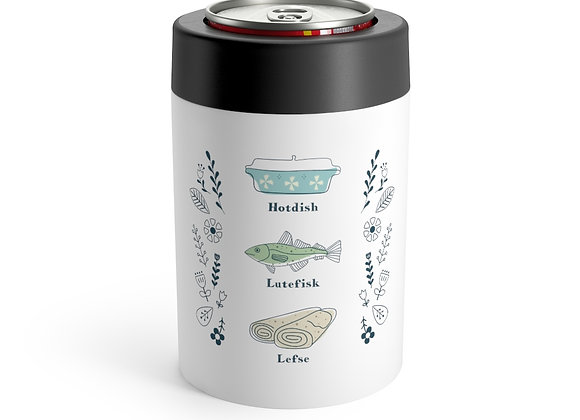 Hotdish, Lutefisk and Lefse Can Holder