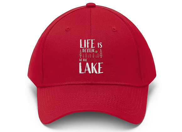 Life is Better at the Lake Baseball Cap