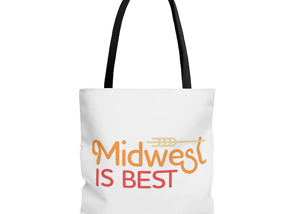 Midwest is Best Tote Bag