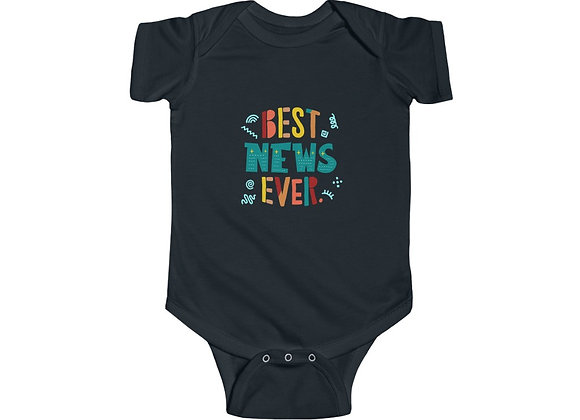 Best News Ever Baby Onesie
