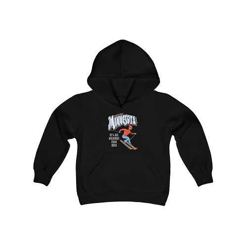 MN Winter Destinations Youth Hoodie