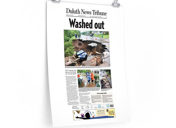 June 21, 2012 DNT Front Page Poster - Historic Flooding